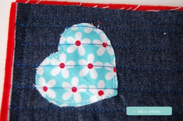Heart Coaster tutorial by Lulu & Celeste