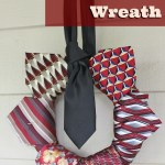 Repurposed-Neckties-Wreath-DIY