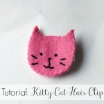 Tutorial: Kitty Cat Hair Clip