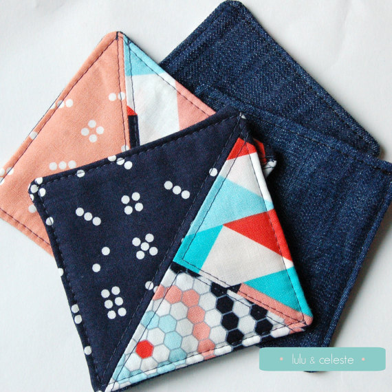 Triangle coaster set