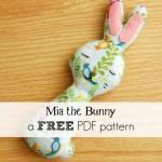 Sew a Softie: Mia the Bunny softie