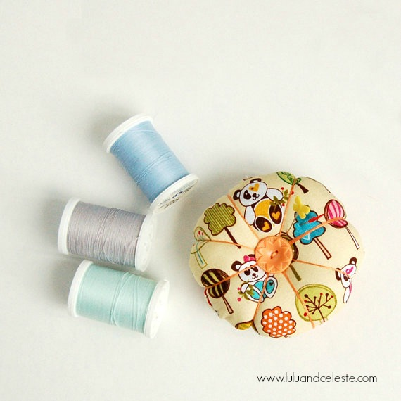 pincushion by Lulu & Celeste