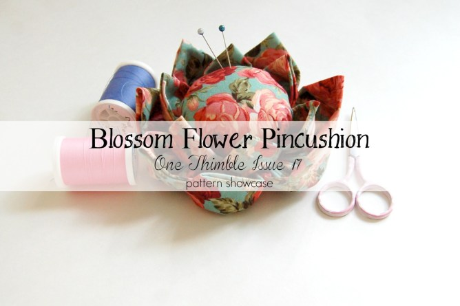 Blossom Flower pincushion - Lulu & Celeste