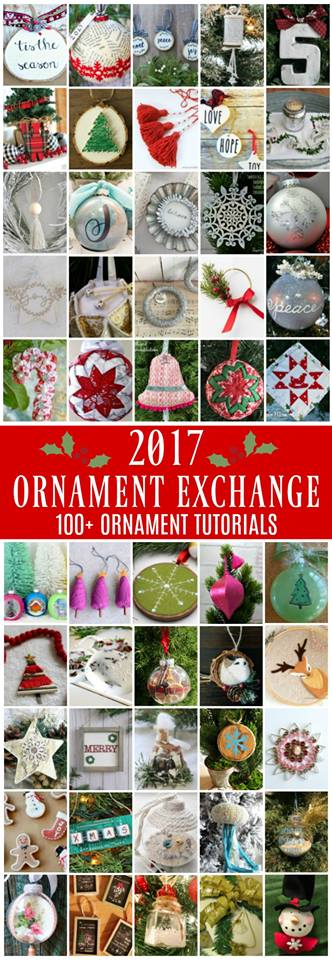 100 ornament tutorials #2017OrnamentExchange