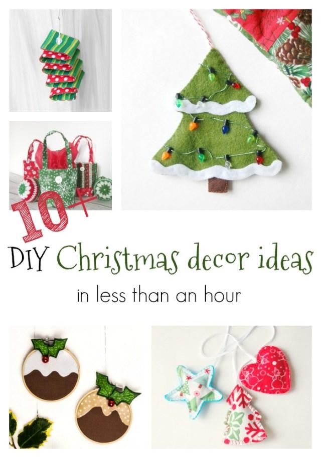 Easy DIY Christmas decor ideas
