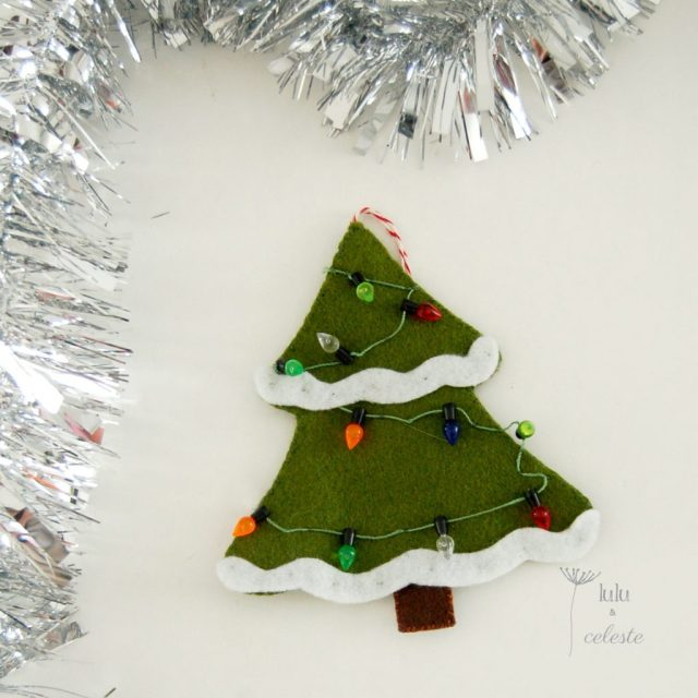Christmas tree ornament by Lulu & Celeste