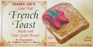 French Toast Trader Joes