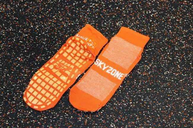 sky zone socks