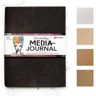 Dina Wakely Mixed Media Journal