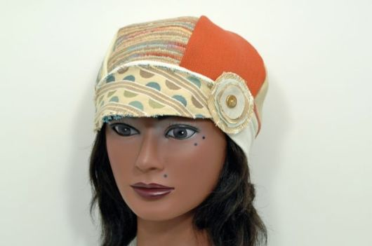 Upcycled Fabric Sample Hat