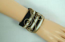 Upcycled Zipper Wrist Cuff
