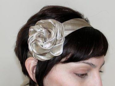 Upcycled Necktie Headband