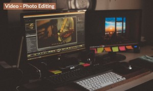 Video editing 200x1200 with label