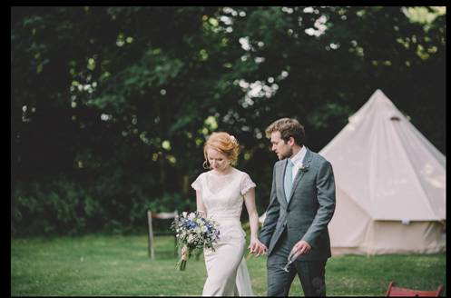 Bride-and-groom-bell-tent-wedding