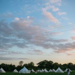 Glamping at Heath Barn, Cotswolds