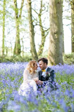 bluebell+woodland+glamping+wedding