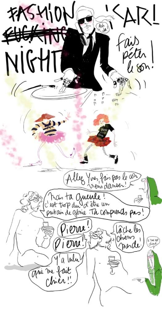 Fashion night vogue  - Lulu d'Ardis