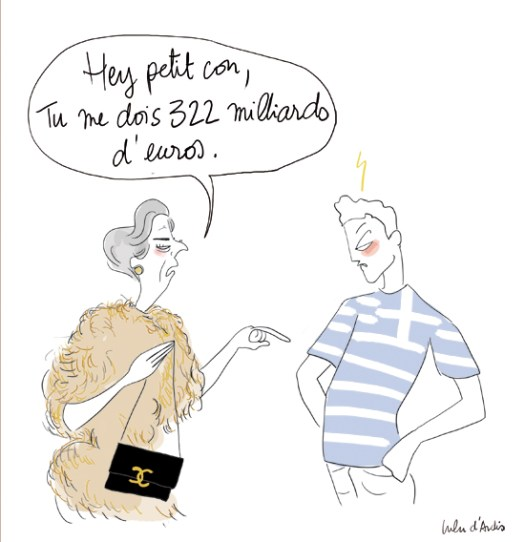 referendum grec - Lulu d'Ardis