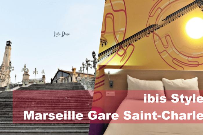 馬賽火車站附近住宿 火車站前的平價宜必思·ibis Styles Marseille Gare Saint-Charles