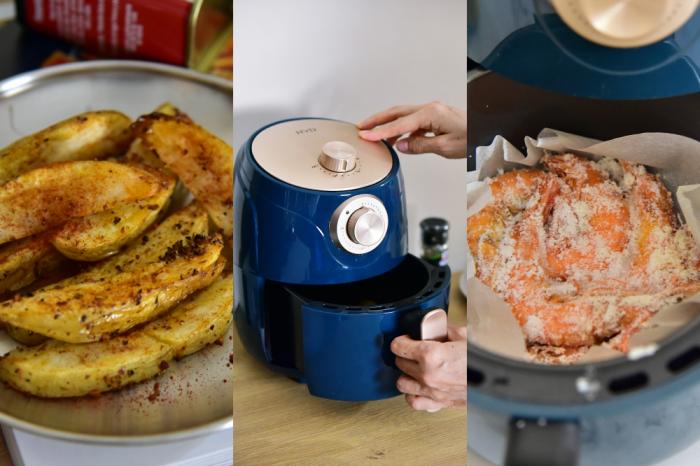 簡單上菜氣炸鍋食譜|HYD 絕美經典氣炸鍋 D-552 :我們的享瘦好幫手 小資首選美型復古氣炸鍋