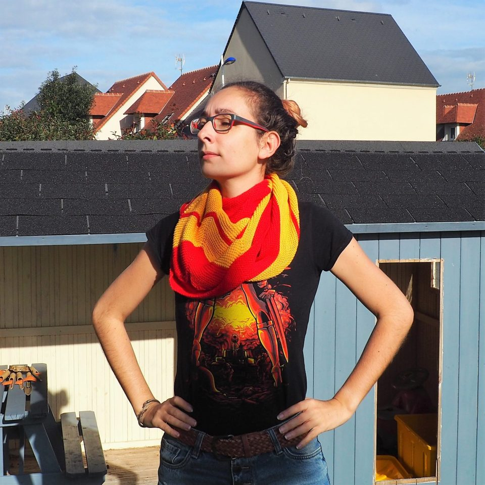 Châle Wonder Woman - écharpe