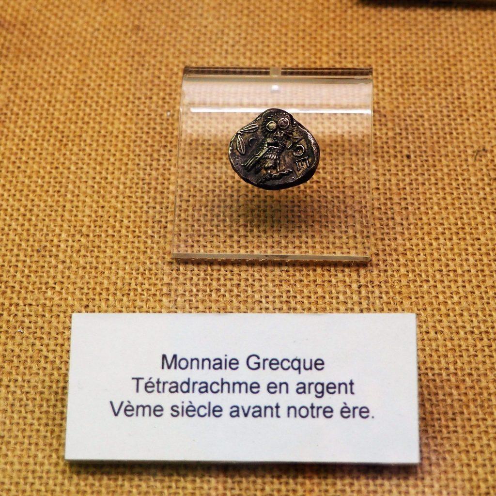 ite de Soyons - musée drachme