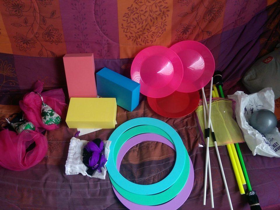 Organisation - cirque matériel
