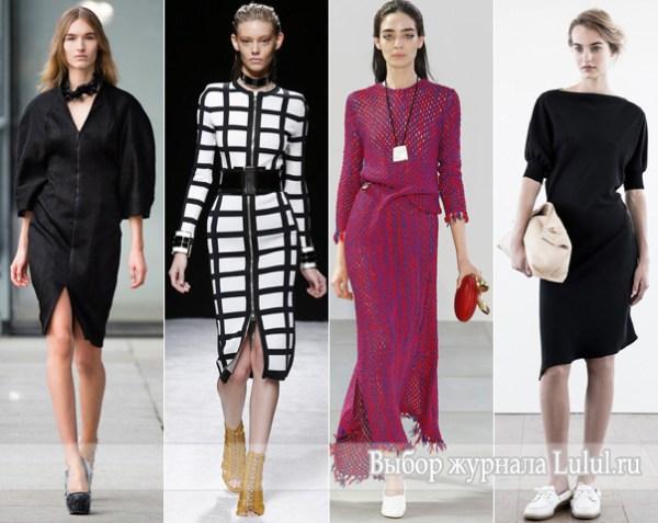 Модные весенние платья весналето 2015 года с фото