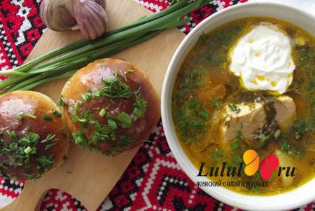 Как приготовить зеленый борщ со щавелем и яйцом рецепт с фото