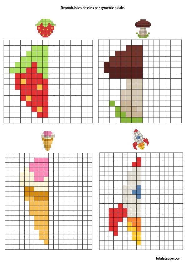 pixel art lulu la taupe