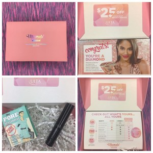 A Porefessional Primer By Benefit And 25 Beauty Services Reward Card The Samples Are Pretty Self Explanatory Gift Is