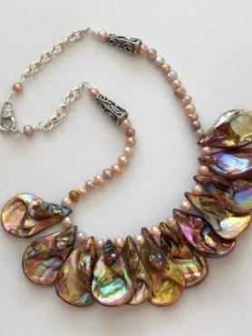 Bronze Shell Necklace