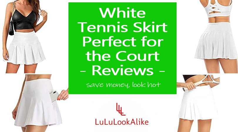 White Tennis Skirt Featured Image