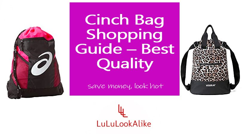 Cinch Bag Featured Image