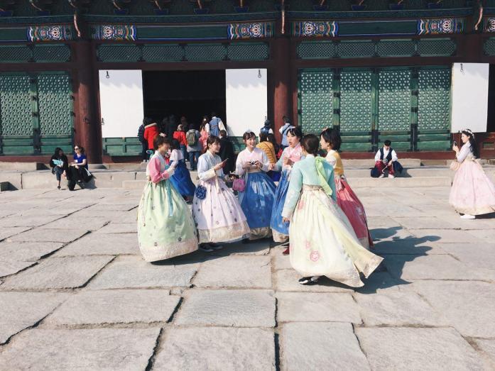 Gyeongbokgung Palace in Seoul © Luisa Sancelean