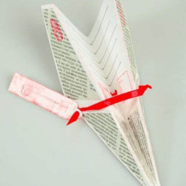 Бумажный самолётик.