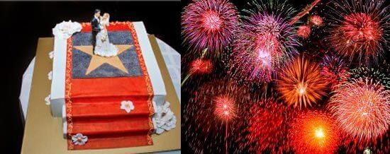 свадебный торт по голливудски