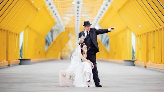 свадьба в стиле гангстеров