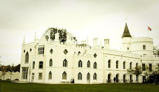 Старинный замок для свадьбы