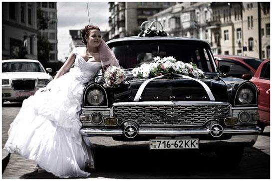Свадебный лимузин - Чайка