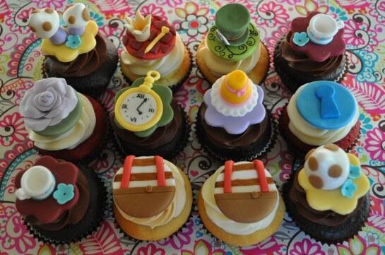 пирожные на свадебный стол