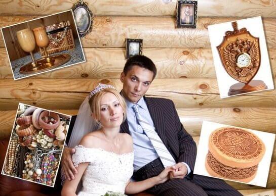 На деревянную свадьбу дарят все деревянное