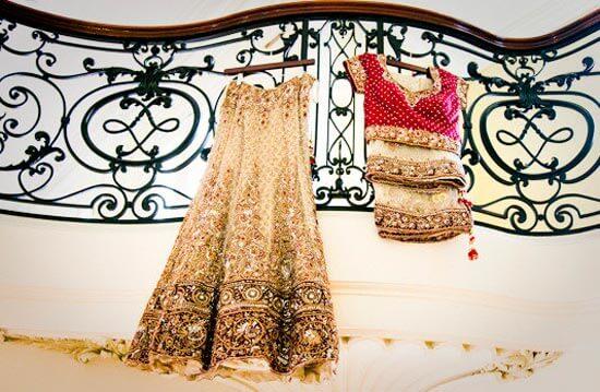 Наряд для индийской невесты