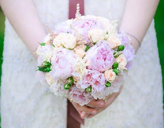букет невесты - простота и изысканный вкус