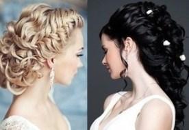 Как делать свадебные причёски: красивые укладки для длинных и коротких волос