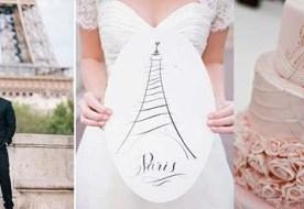 Свадьба в стиле Париж – праздник в атмосфере французского шарма