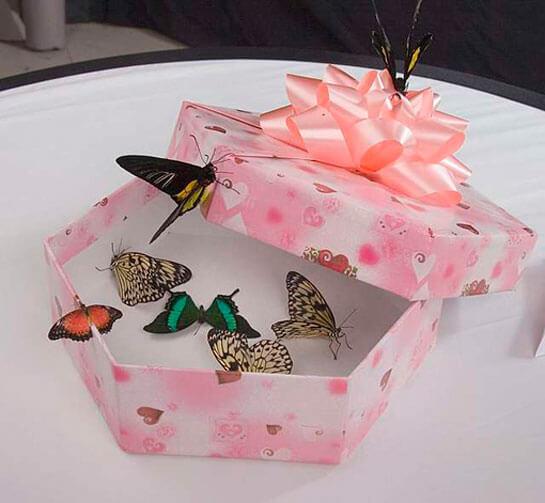 коробочки для гостей