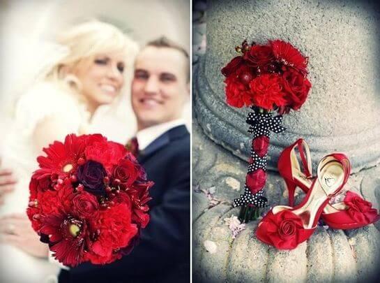 Букет невесты в стиле Лас-Вегас