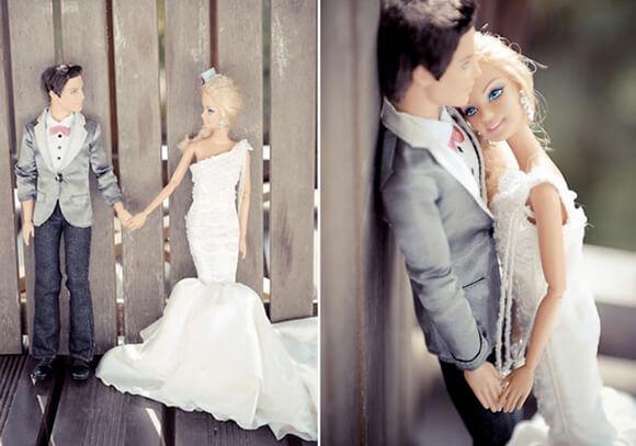 Стильный декор свадьбы в образе Барби