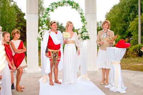 церемония в греч.стиле